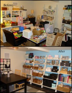 Craft Room: Before and After
